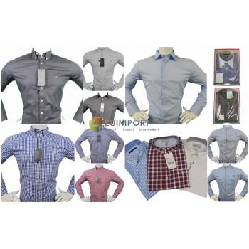 Микс мужских рубашек известных марок