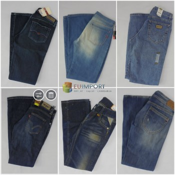 Набор джинсов марок Diesel, G-Star, Replay, Levis, Jack & Jones, LTB, Only, Vero Moda, Wrangler, Lee