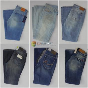 Набор джинсов марок Diesel, G-Star, Replay, Levis, Jack & Jones, LTB, Only, Vero Moda, Wrangler, Lee