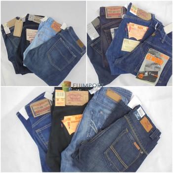 Набор джинсов марок Pepe Jeans, Diesel, Levi's, PME и другие