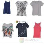 Набор брендовых женских футболок, блуз и туник