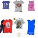 Набор детских футболок известных брендов