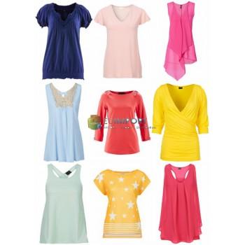 Женские футболки и топы