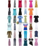 Stocklots Летняя Женская одежда - Рубашки Топы Платья Брюки Туники