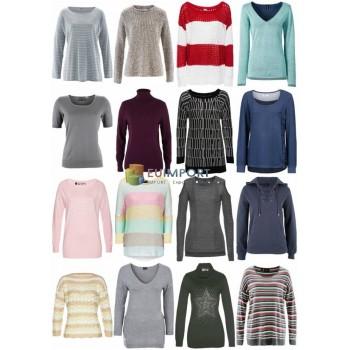 Женская осенняя зимняя одежда - трикотажные свитера с длинными рукавами и т. Д.