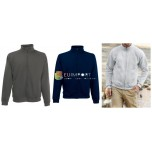 Fruit of the Loom Mens Sweater Zipper Sweat Jacket Mix