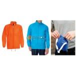Мужская куртка для дождя Оранжевая куртка с капюшоном