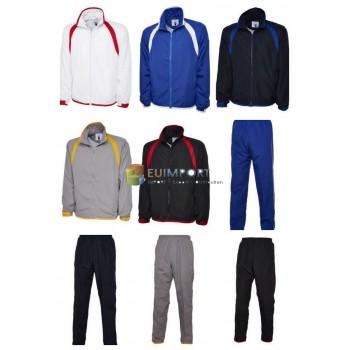 Спортивный костюм для мужчин Спортивный костюм Спортивный костюм для брюк Комплект из 2