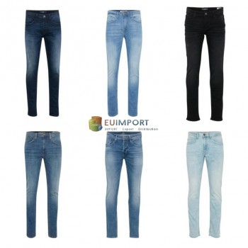 Blend Смешайте мужские джинсовые брюки Mix Remnants