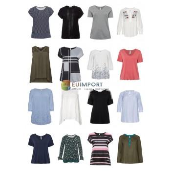Дамы Плюс Размер Мода Плюс Размер Футболки Топы Блузы Большие размеры Оставшийся запас Микс