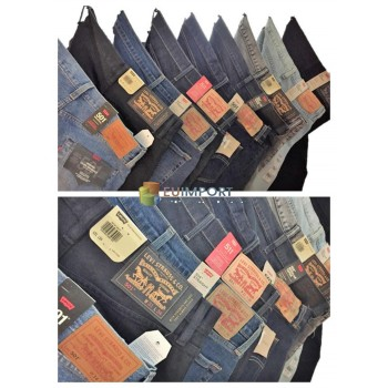 Levis Jeans Мужские бренды Брюки Бренд Jeans Mix