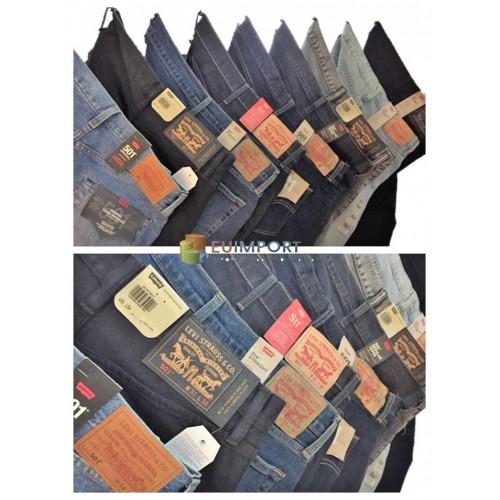 fec9acbcc Levis Jeans Мужские бренды Брюки Бренд Jeans Mix