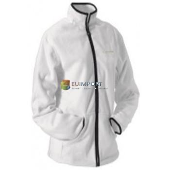 Женская флисовая куртка Diadora, белая