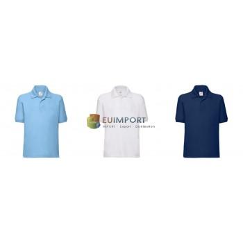 Детский футболка-поло Fruit of the Loom Uni