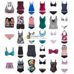 Женские купальники Tankinis Bikinis Купальники Beach Fashion Mix