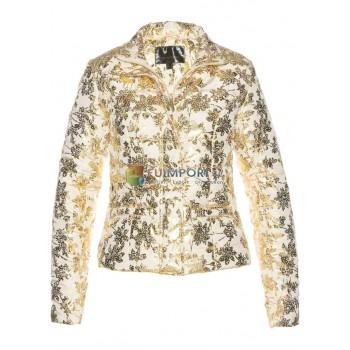 Женская куртка стеганая куртка зимняя куртка с принтом