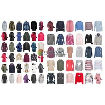 Женская зимняя одежда Куртки Пальто Пуловер Свитер Микс