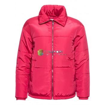Куртка женская зимняя ватник женская розовая