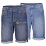 Мужские шорты Бермудские джинсы, брюки