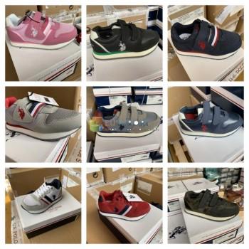 US Polo Assn. Обувь детская марка обувь кроссовки микс