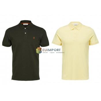 Selected Поло мужская рубашка-поло микс