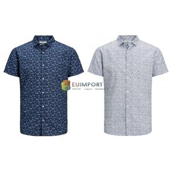 Jack & Jones рубашки с коротким рукавом мужская рубашка лето