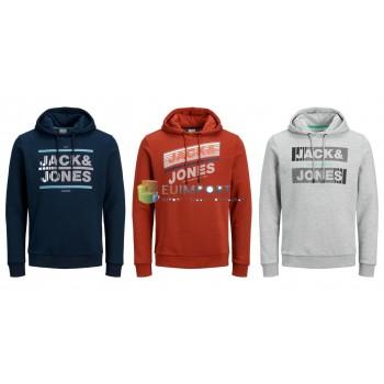 Толстовки с капюшоном Jack & Jones мужские 3 цвета