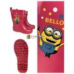 Резиновые сапоги детские розовые резиновые сапоги для девочек лицензионные товары