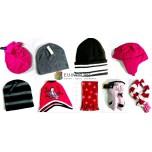 Набор аксессуаров: шапки, перчатки, шарфы (бренды США)