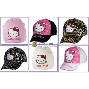 Набор шапок и кепок Hello Kitty