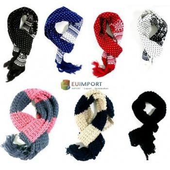 Набор зимних шарфов (унисекс)